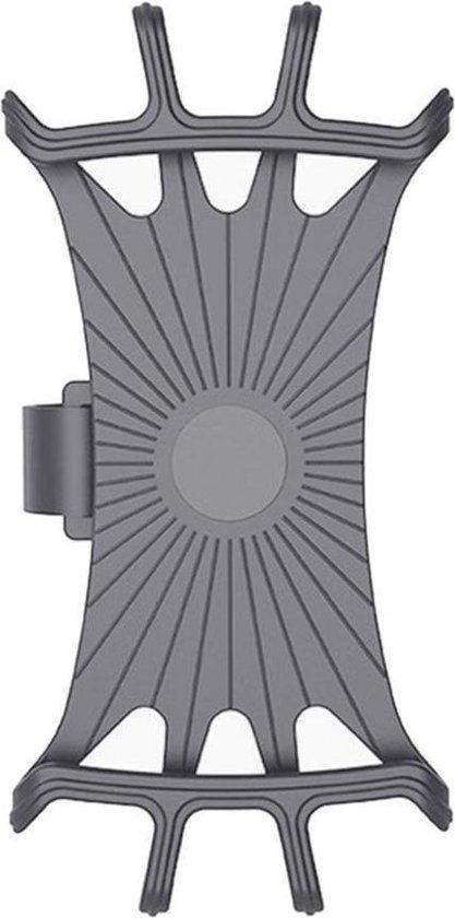 Telefoonhouder fiets grijs 3