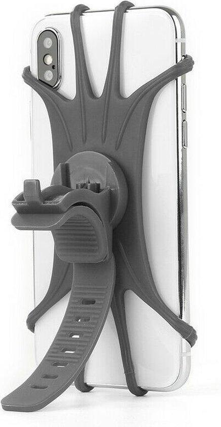 Telefoonhouder fiets grijs 2